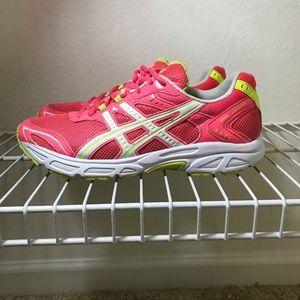 Asics Gel Vigor Cherry Pink Athletic Running Shoes